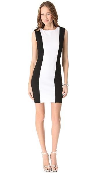 alice + olivia Alberta Colorblock Dress