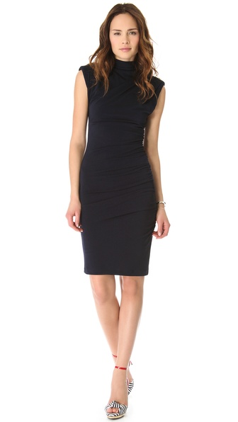 alice + olivia Sleeveless Turtleneck Dress