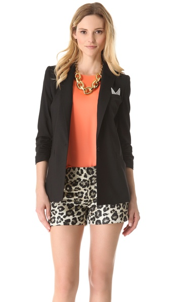 alice + olivia Aida Boyfriend Blazer