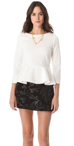 Kupi alice + olivia Regina Peplum Top i alice + olivia haljine online u Apparel, Womens, Tops, Blouse,  prodavnici online