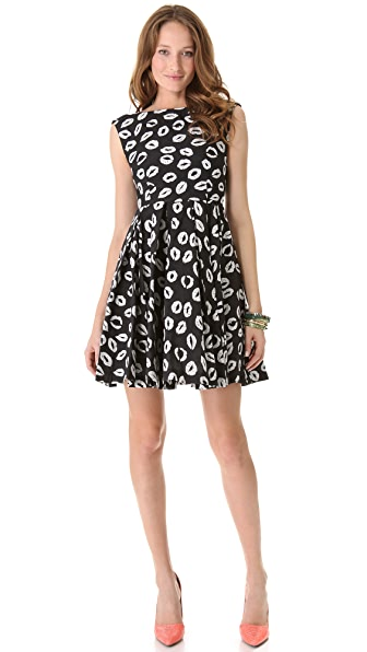alice + olivia Allegra Flare Dress