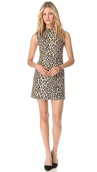 alice + olivia Leopard Shift Dress