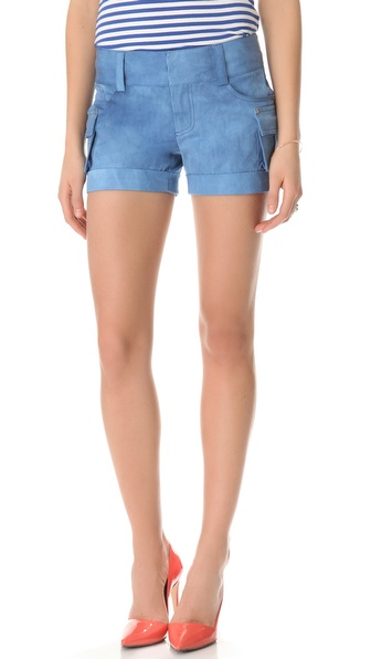 alice + olivia Cady Cargo Shorts