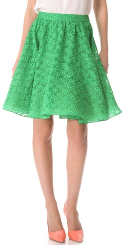 alice + olivia Puff Skirt