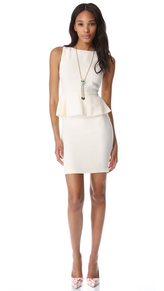 alice + olivia Peplum Dress | SHOPBOP