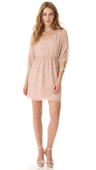 alice + olivia Embellished Tunic Dress
