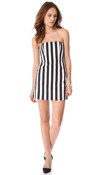 alice + olivia Nyla Strapless Dress