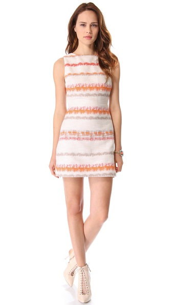 alice + olivia Everleigh Sleeveless Dress