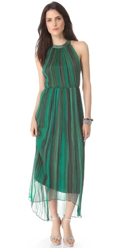 alice + olivia Ida Crisscross Maxi Dress