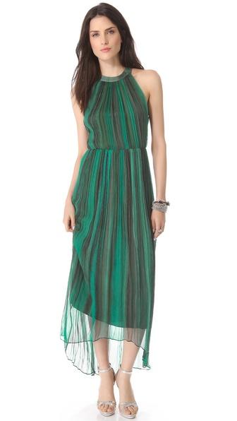 alice + olivia Ida Crisscross Maxi Dress