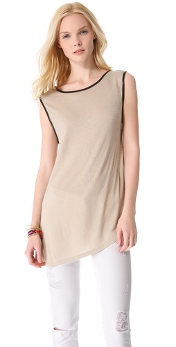 alice + olivia Cale Asymmetrical Top