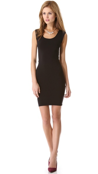 alice + olivia Tubular Cap Sleeve Dress