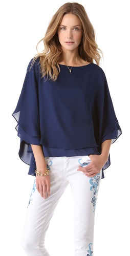 alice + olivia Hampton Top