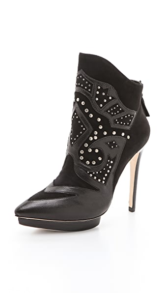 alice + olivia Denby Embellished Booties