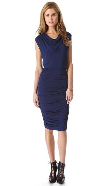 alice + olivia Brentan Blouson Dress