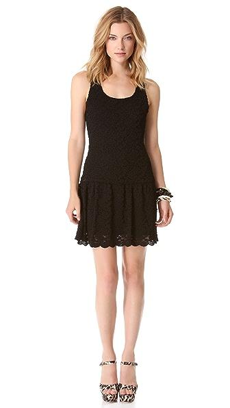alice + olivia Wendy Flare Dress