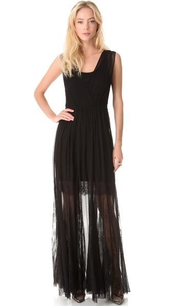 alice + olivia Sami Sleeveless Maxi Dress