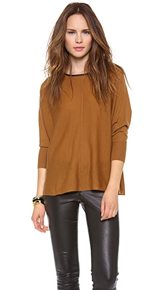 alice + olivia Abbot Slouchy Pullover