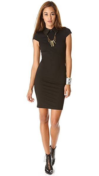 alice + olivia Evet Collar Dress