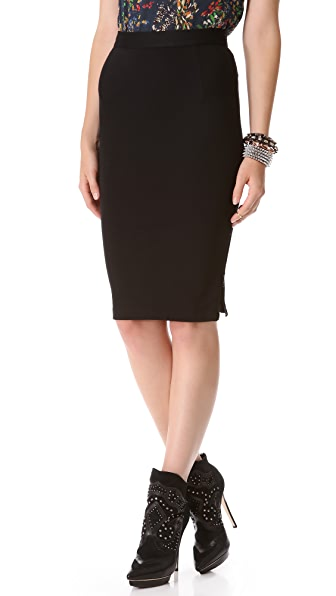 alice + olivia Jenna Pencil Skirt