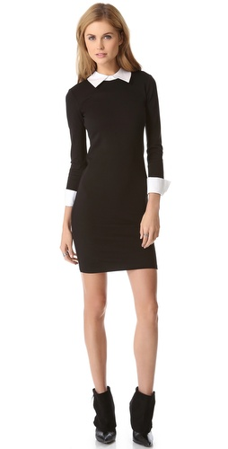 alice + olivia Courtnee Combo Cuff Dress at Shopbop / East Dane