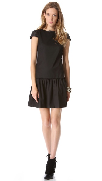 alice + olivia Reagan Drop Waist Dress