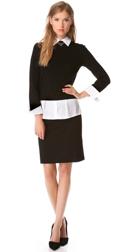 alice + olivia Aurelia Sweater Dress at Shopbop / East Dane