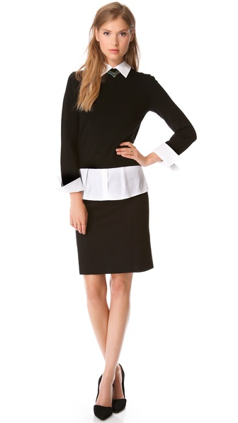 alice + olivia Aurelia Sweater Dress