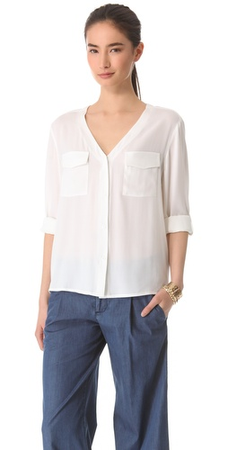 alice + olivia Donnie Blouse