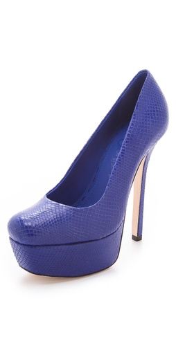 alice + olivia Larimore Platform Pumps at Shopbop / East Dane
