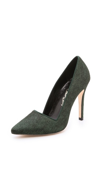 alice + olivia Dina Haircalf Pumps