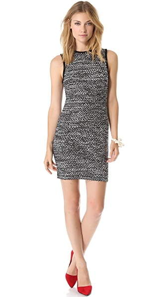 alice + olivia Havana Eyelash Dress