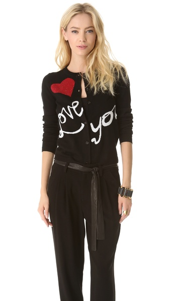 alice + olivia Love You Cardigan
