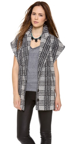 alice + olivia Zaide Oversize Vest at Shopbop / East Dane