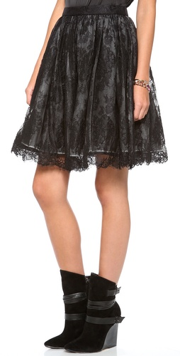 alice + olivia Chiara Extra Full Flare Skirt at Shopbop / East Dane