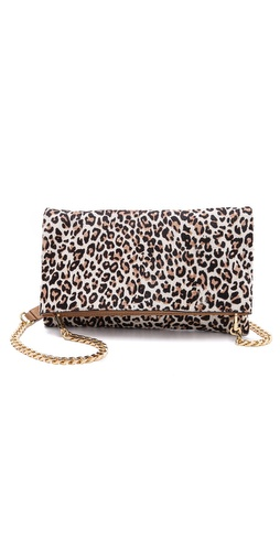 alice + olivia Me Clutch in Haircalf at Shopbop / East Dane