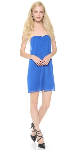 alice + olivia Jazz Center Drape Strapless Dress at Shopbop / East Dane