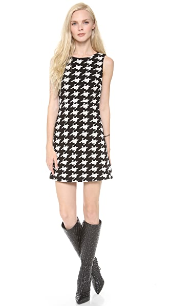alice + olivia Everleigh Sleeveless A Line Dress
