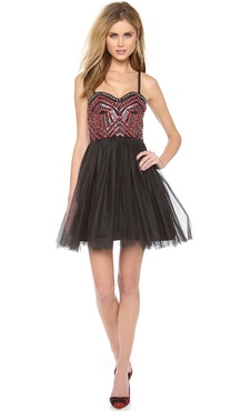 alice + olivia Audrie Party Dress