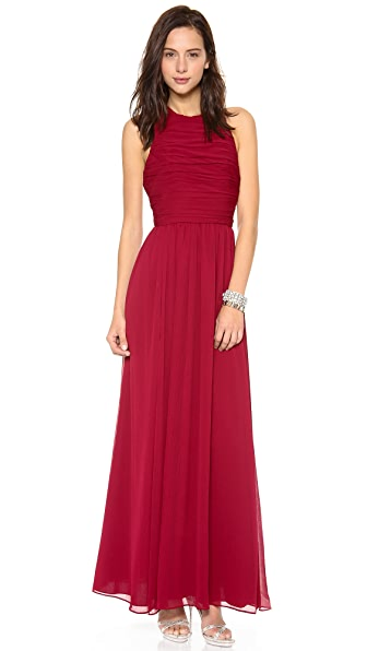 alice + olivia Runie T Back Maxi Dress