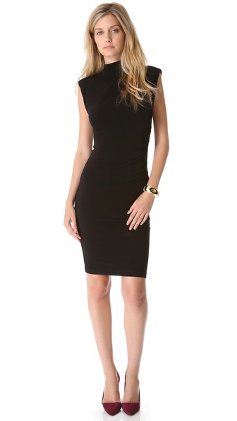 alice + olivia Lynley Turtleneck Dress