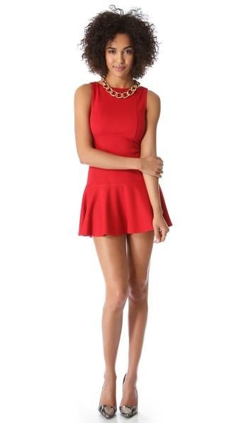 alice + olivia Kaya Drop Waist Dress