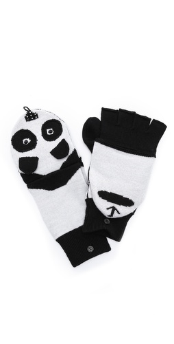 alice + olivia Panda Mittens at Shopbop / East Dane