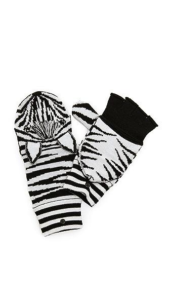 alice + olivia Zebra Mittens