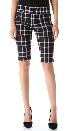 alice + olivia 5 Pocket Cuffed Shorts at Shopbop / East Dane
