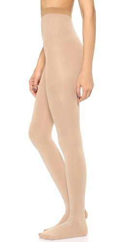 alice + olivia Alice and Olivia by Pretty Polly Crystal Covered Tights at Shopbop / East Dane