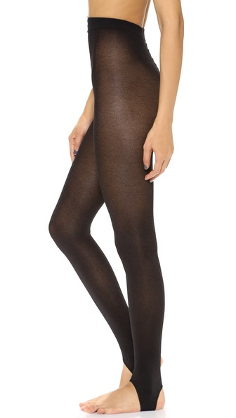 Alice + Olivia Alice And Olivia By Pretty Polly 120D Strirrup Tights - Black at Shopbop / East Dane