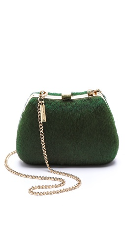 alice + olivia Ella Haircalf Clutch at Shopbop / East Dane