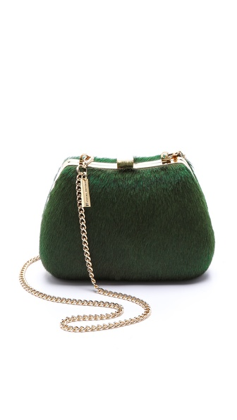 alice + olivia Ella Haircalf Clutch