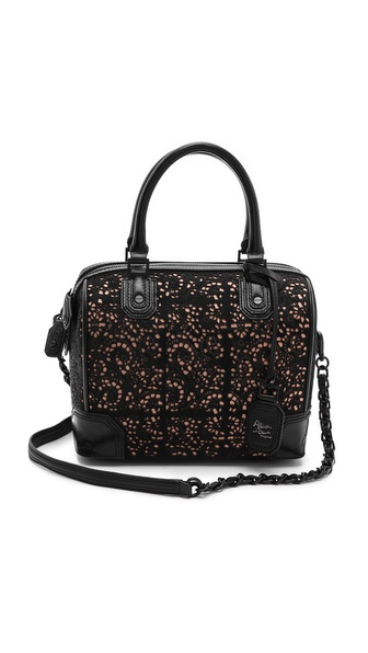 alice + olivia Lasercut Haircalf Olivia Bag